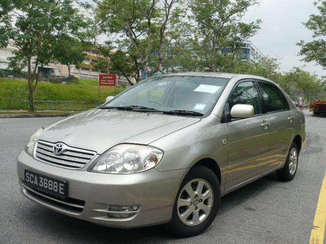 Toyota Corolla 2003. TOYOTA COROLLA 1.5A XLI